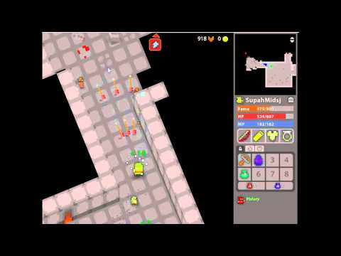 ROTMG UDL with guildy-Quest for Doom bow