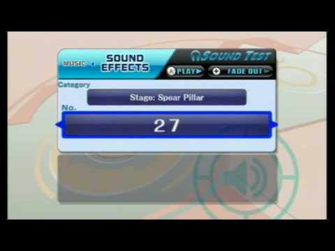 SFX SSBB Spear Pillar sounds