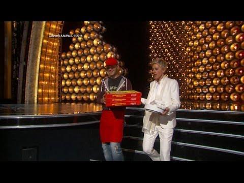 Oscars 2014: Ellen's Best Oscar Moments