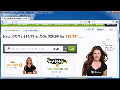 Buying a  domain name - How to buy a domain name?