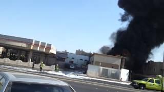 #x202b;حريق محطة بنزين بالدخل المحدود#x202c;lrm;