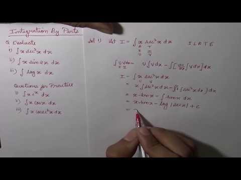 Integration By Parts Problem Solving - Part-1 (Hindi) | NCERT 12 Class Maths