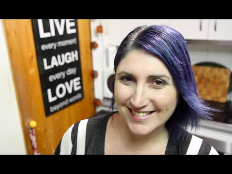 BLUE HAIR DON'T CARE /  Q & A - CookingwithKarma