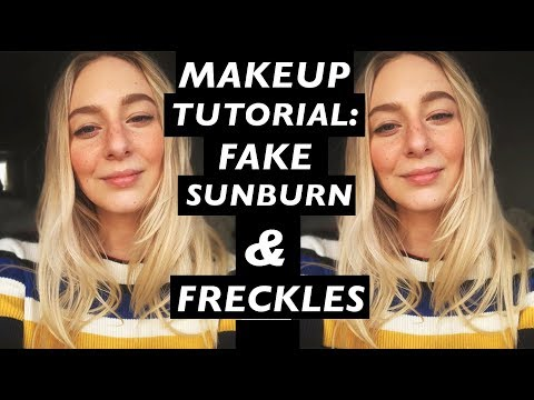 SUNKISSED & FAKE FRECKLES TUTORIAL