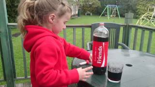 Mentos and coke experiment