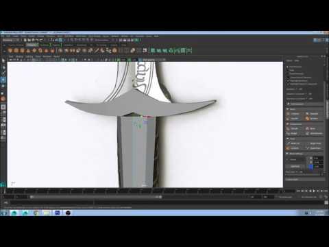How to Design a Sword in Autodesk Maya