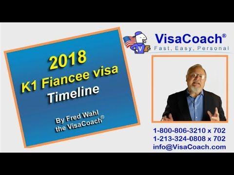 K1 Visa Processing Timeline 2018