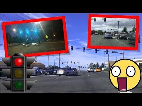 Idiots Running Red Lights Compilation