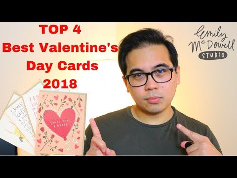 Top 4 Best Valentine's Day Cards 💌 | 2018