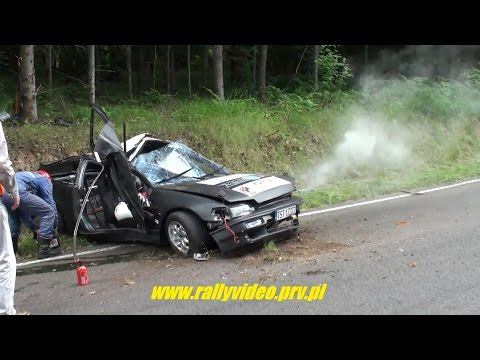 best of crashes vol 6 - 2014 - www.rallyvideo.prv.pl - dzwony kjs crash rally hd