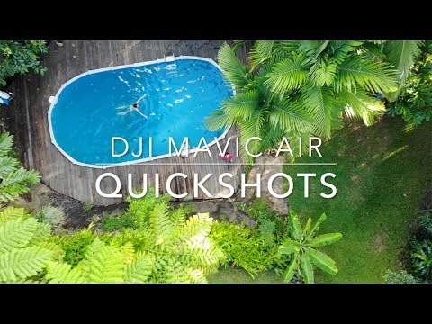 DJI Mavic Air Quickshots