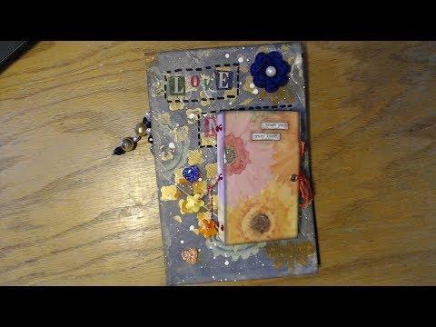 Love Notes and Creative Ideas Junk Journal Flip Through