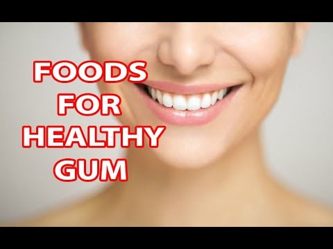 8 FOODS FOR HEALTHY GUMS