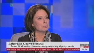 Kidawa-Błońska: nie czuję się paprotką (TVP Info, 07.01.2014)