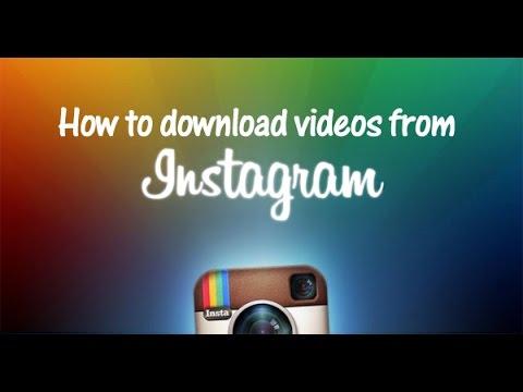 How To Download Instagram Videos/Pictures - Urdu/Hindi
