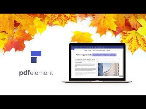 Introducing PDFelement for Mac - Best PDF Expert Alternative for Mac