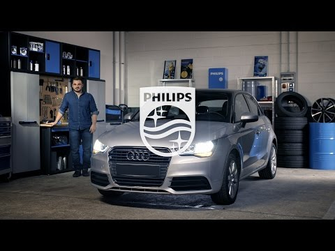 How to replace headlight bulbs on your Audi A1 - Philips automotive lighting