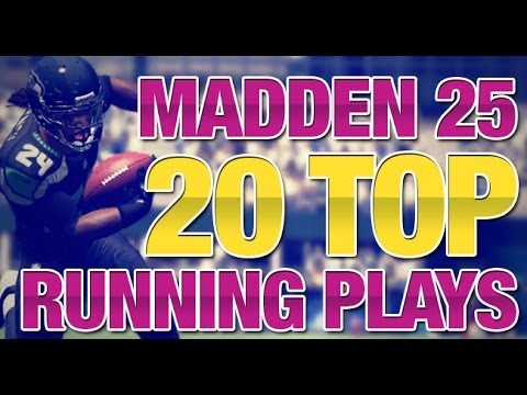 20 Best Running Plays You Should Use In Madden 25 | Seahawks vs 49ers Gameplay
