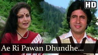 A Ri Pawan Dhunde Kise Tera Mann - Rakhee - Amitabh - Vinod Mehra - Bemisal Movie Songs - Lata Hits