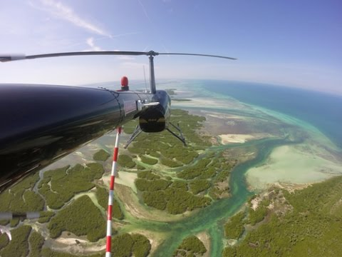 Scenic Helicopter Flight over Key West, Florida!