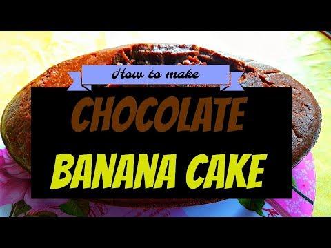 How to make Chocolate Banana Cake (Inspired by Tasty)