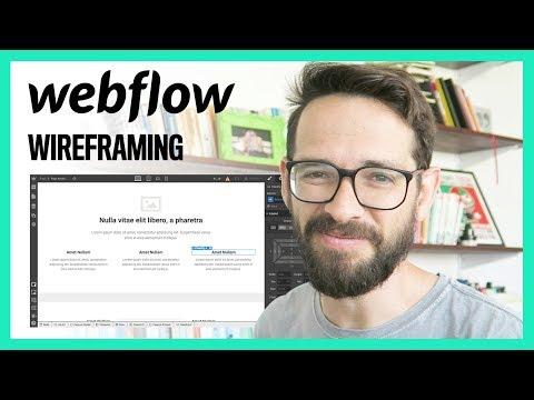 Best Wireframe Tool 2018: Webflow