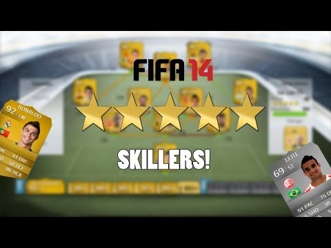 FIFA 14 - All 5 Star Skillers