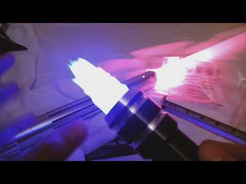 Outer Rim Sabers The Flame Lightsaber Blade Plug Unboxing and Trial