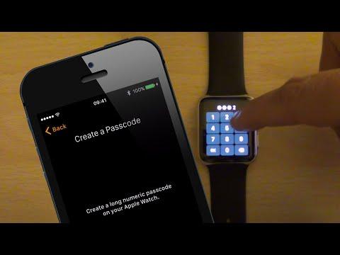 Reset Apple WatchOS Password