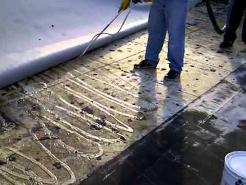 fast 100 - Carlisle 115 fleeceback sheet laid in adhesive