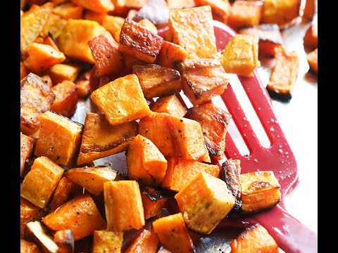 Roasted Sweet Potatoes Recipe - Pip and Ebby