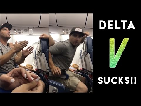 Delta Airlines Kicks Man and Family Off Plane (RIDICULOUS!)