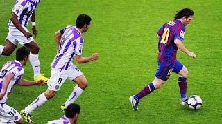 Lionel Messi ● 10 Greatest Solo Runs Ever  ► Box to Box / Midfield to Box   HD  