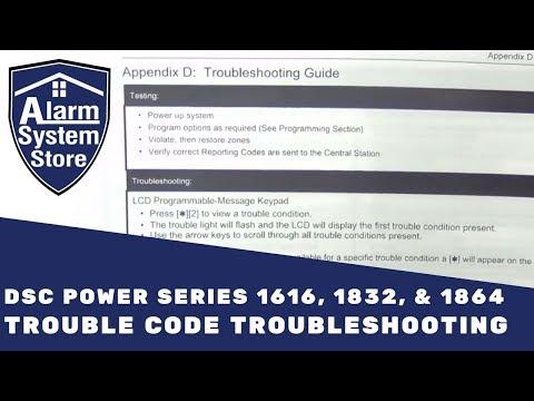 Alarm System Store Tech Video - DSC Trouble Codes