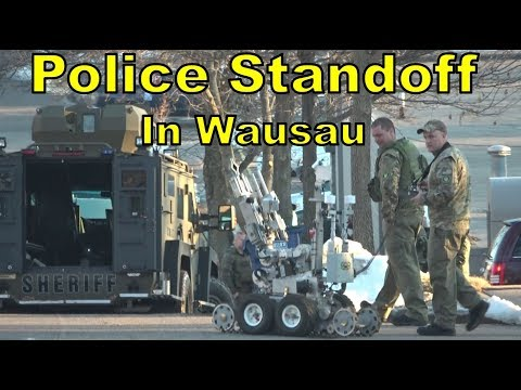 Wausau Police & Swat Team Response March 14th 2018