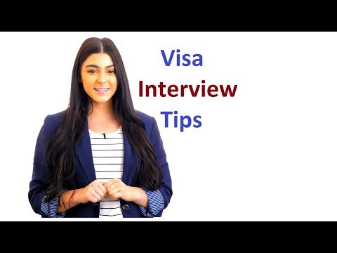 Student Visa Interview Tips | Embassy or Consulate Interview | Visa Process