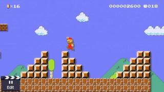 """How to solve """"Awful 1-1 Remix"""" in Super Mario Maker"""