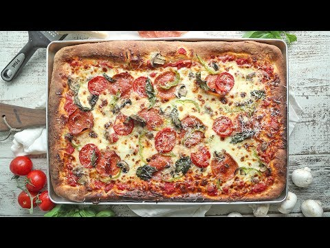 Homemade Sheet Pan Pizza | The Inspired Home
