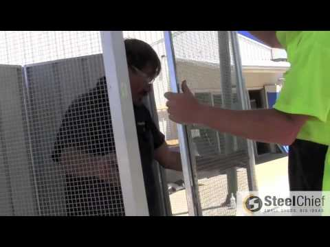 Installing Your SteelChief Hexagonal Aviary