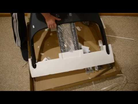 Kanto MTM65 Mobile TV Stand unboxing
