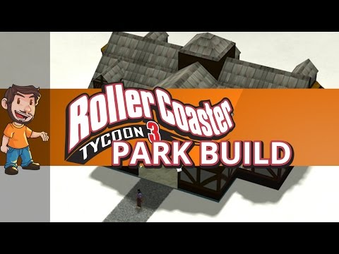 Rollercoaster Tycoon 3 - Christmas Park Build