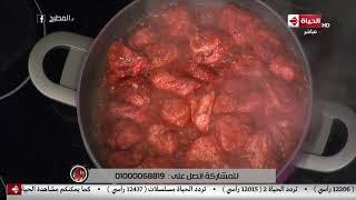 """المطبخ - طريقة عمل """" صدور الفراخ بالزبدة """" على طريقة الشيف أسماء مسلم"""