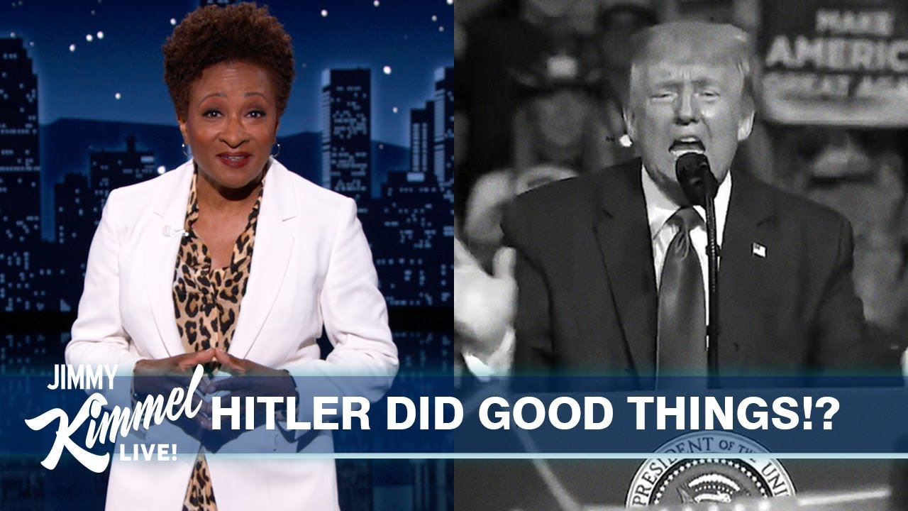 Guest Host Wanda Sykes on Trump Praising Hitler, Republicans Refusing Vaccines & Gay Couches!