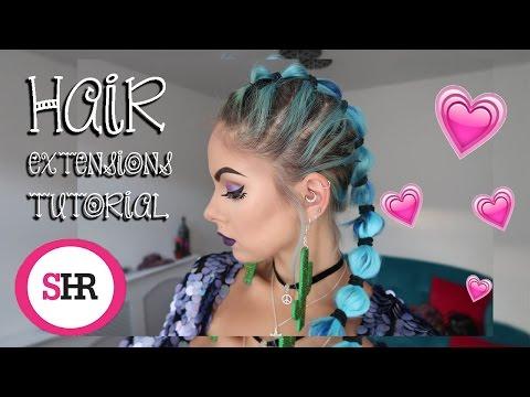 Hair Extensions Hair Tutorial | Sophie Hannah Richardson