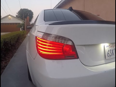 E60 bmw LCI Taillight retrofit