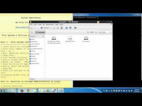 File System Information in Linux (RHEL 6,CentOS 6)