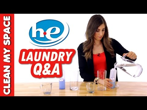 HE Laundry Questions & Answers! (Clean My Space)