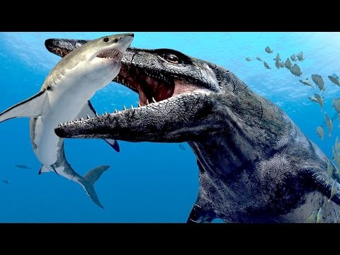 TOP 10 Terrifying SEA DINOSAURS