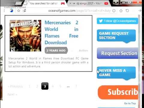 how to download call of duty 1,1 for free 100% working !