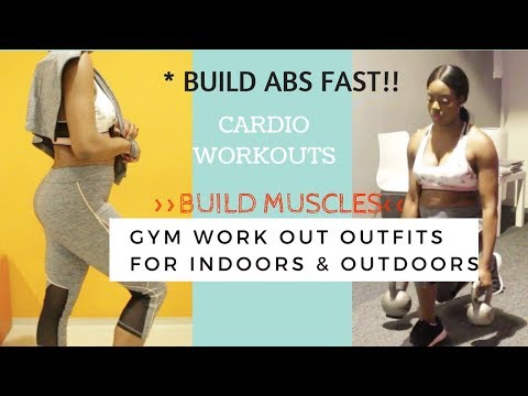 GYM WORKOUT TIPS  + SPORTING OUTFITS LOOK BOOK!!!